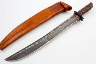 Custom Damascus Steel Sword