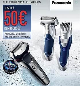Offre De Remboursement : offre de remboursement panasonic 50 sur votre rasoir ou ~ Carolinahurricanesstore.com Idées de Décoration