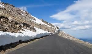 Mount Evans Scenic Byway Colorado