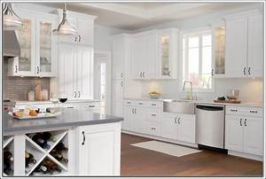 White kitchen cabinets home depot kitchen ideas and for Home depot white kitchen cabinets 2
