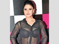 Zareen Khan shows a bit too much Entertainment