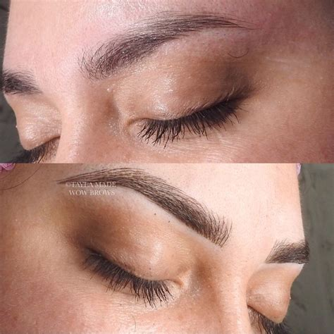 feather eyebrow tattoo ideas  pinterest