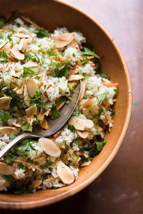 Transform a bowl of brown rice into a middle eastern salad with the addition of chickpeas, mint, cumin and dates. Middle Eastern Rice with Toasted Pasta and Herbs | Recipe ...
