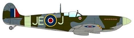 home design exles spitfire plane