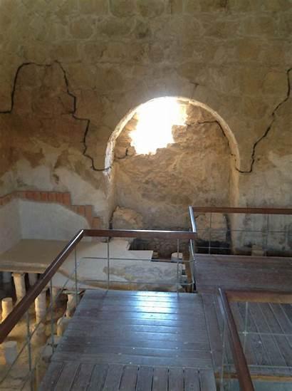 Masada Israel Inside Travel Bathhouse Guide Land