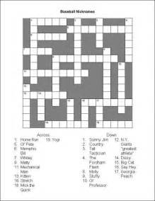 printable crossword puzzles coloring