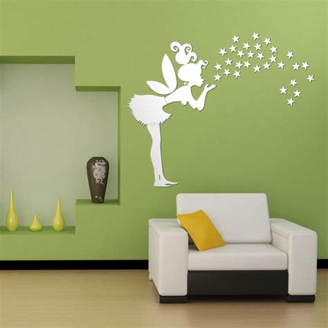 home decor wall home decor bedroom decoration 3d mirror stickers 35