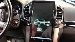 Tesla Style Radio Chevrolet Captiva