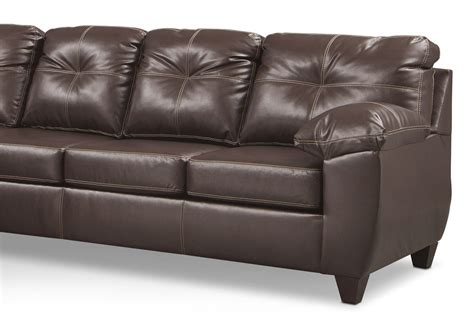 ricardo  piece memory foam sleeper sectional  left