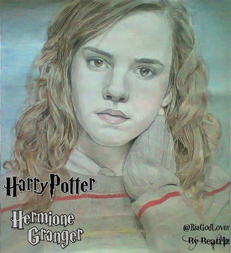 hermione granger harry potter drawing harry potter fan
