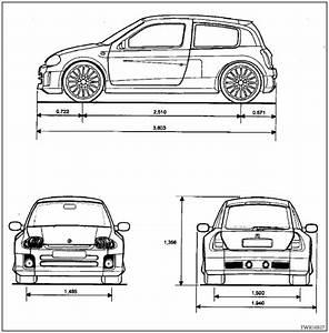 Dimensions Clio 4 : revue technique automobile renault clio dimensions generalites t lerie revue technique ~ Maxctalentgroup.com Avis de Voitures