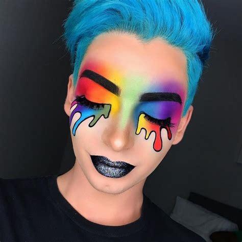 glitzer make up fasching regenbogen make up karneval glitzer lippenstift grau makeup glitzer karneval lippenstift