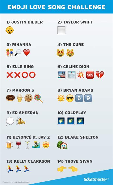 guess  love songs   emoji