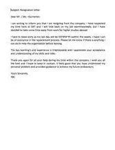 Resignation Letter: Formatting Guide and Free Samples