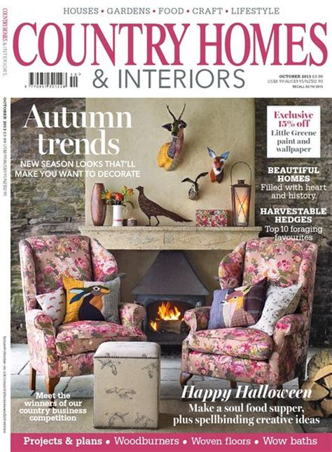 Download Country Homes & Interiors Magazine  October 2013