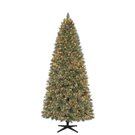 donner and blitzen 7 5 ft christmas tree clear lights