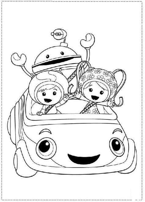 team umizoomi coloring pages getcoloringpagescom