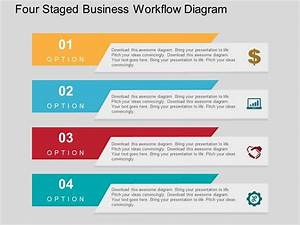 Flow Process Flat Powerpoint Templates Designs And Diagram