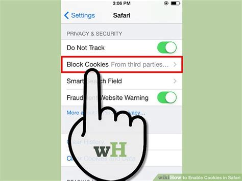 enable cookies on iphone 4 ways to enable cookies in safari wikihow Enabl
