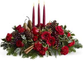 christmas flower centerpieces pictures1