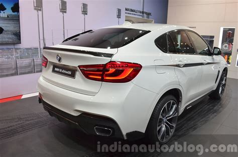 Bmw X6 Accessories by Bmw X6 With M Performance Parts Spoiler And Rear Bumper At