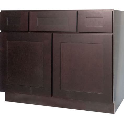 42 Inch Bathroom Vanity Single Sink Cabinet in Shaker