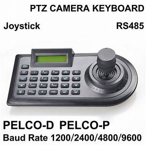 3d Joystick Ptz Camera Keyboard Controller Rs485 Pelco