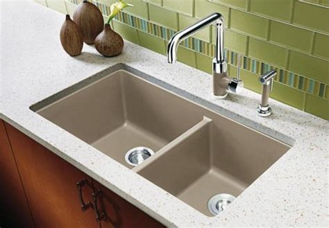 silgranit kitchen sink reviews blanco silgranit undermount sink with reveal 5210