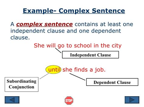 Sentence Structure Ppt