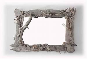 Cadre En Bois Flotté : miroir bois flott ~ Teatrodelosmanantiales.com Idées de Décoration