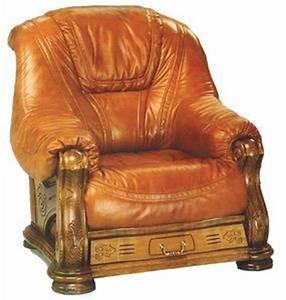 canape et fauteuil comparez les prix pour professionnels With canapé cuir et bois rustique