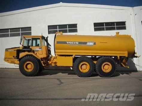 volvo ac   water tank articulated dump truck