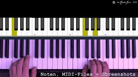 happy birthday  klavier schnell und einfach gelernt