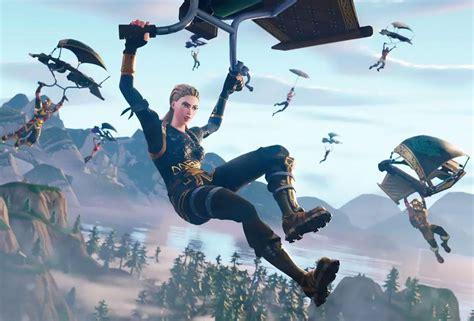 epic games  adjusted fortnite glider redeployment