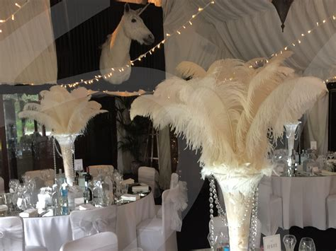 extra large ostrich feather decoration  lets party