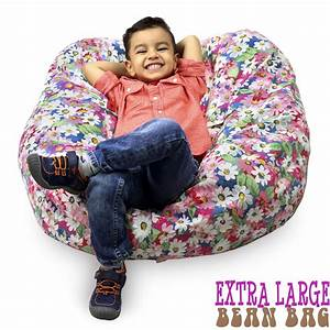 Stuffed, Animal, Storage, Bean, Bag, Chair, 38, Extra, Large, Premium, Cotton, Canvas, By, Alphaone, Sellers