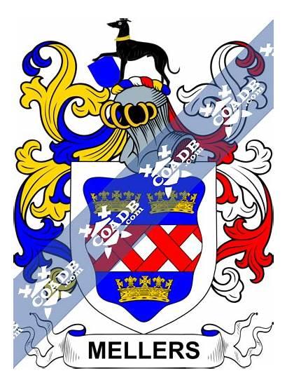Meller Arms Coat Crest History