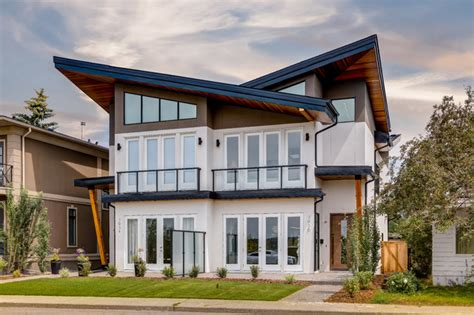 Calgary  Parkhill Modern Contemporary Semidetached