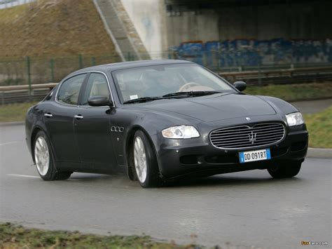 Maserati Quattroporte 2004 by 2004 Maserati Quattroporte V Pictures Information And