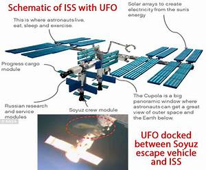 More NASA footage of UFO docked at International Space ...