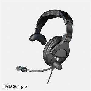Sennheiser Hmd 281 Pro Headset Single Ear 64 Ohms  200 Ohm