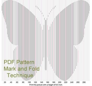 angel book folding pattern