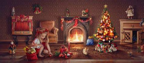 beautiful christmas photo manipulation arts digital