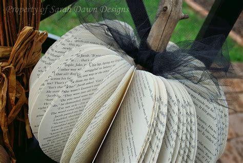 Sarah Dawn Designs Simple Fall Crafts Book Pumpkins