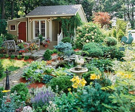 Cottage Style Backyards by 61 Best Country Cottage Gardens Images On