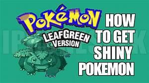 How To Get Shiny Pokemon In Pokemon Leaf Green Gba4ios Ios