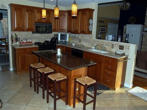 designing a kitchen island with seating small kitchen islands with seating designcorner
