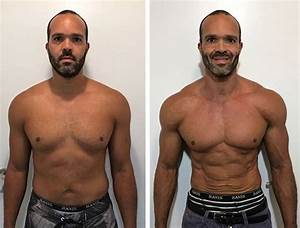 This Man Dropped 6kgs And Halved His Body Fat Percentage