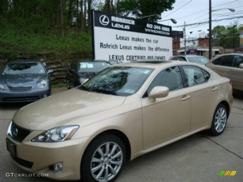metallic lexus 2008 golden almond metallic lexus is 250 awd 8252370