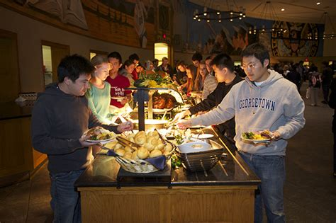 guide  college dining halls  north america